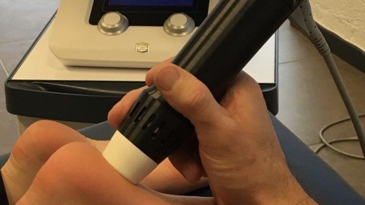 Shockwave therapie Peelland Fysiotherapie
