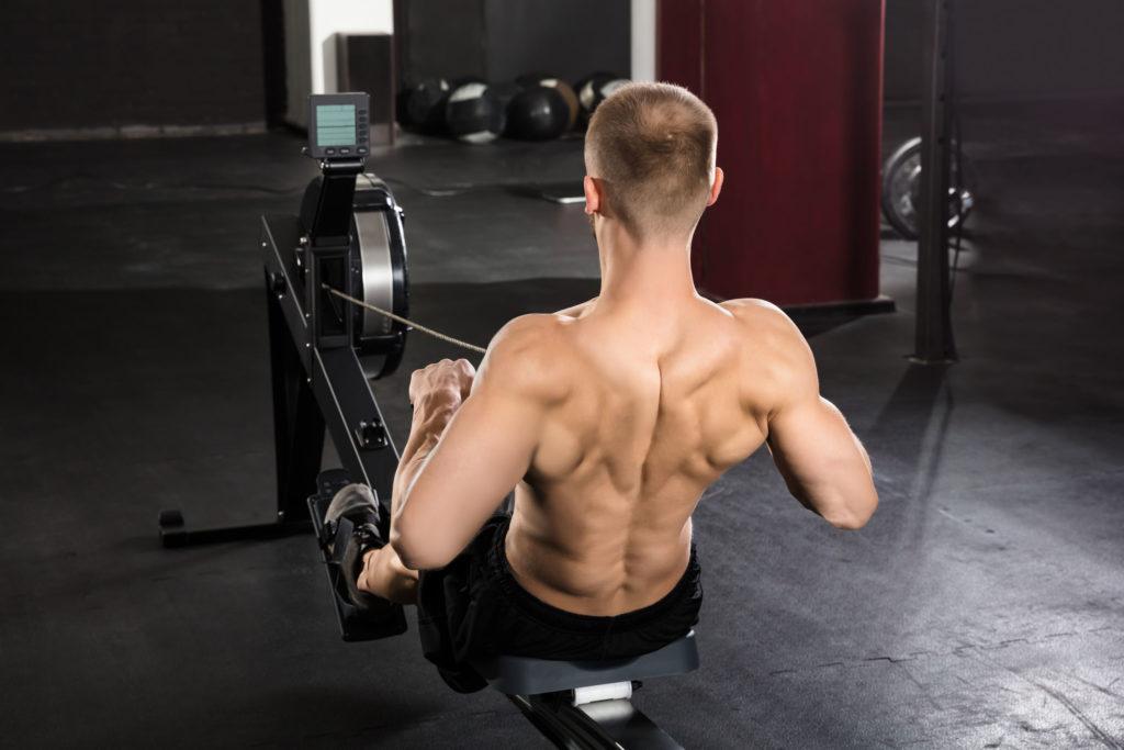 roeien is goed voor schouderklachten