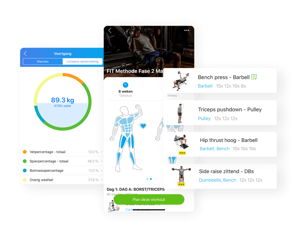 Trainingplan-FIT-methode-app